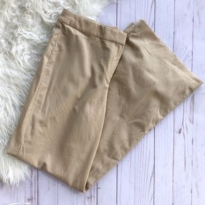 St, John camel tan wide leg pants